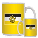 Full Color White Mug 15oz-Sigma Nu Flag