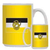 Full Color White Mug 15oz-Sigma Nu Flag