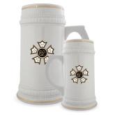 Full Color Decorative Ceramic Mug 22oz-Badge