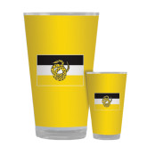Full Color Glass 17oz-Sigma Nu Flag