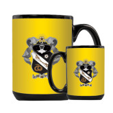 Full Color Black Mug 15oz-Coat Of Arms