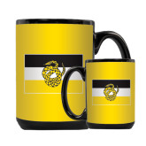 Full Color Black Mug 15oz-Sigma Nu Flag