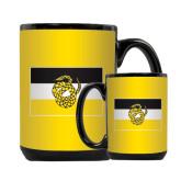 Full Color Black Mug 15oz-Sigma Nu Flag