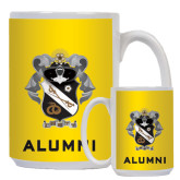 Alumni Full Color White Mug 15oz-Coat Of Arms