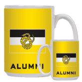 Alumni Full Color White Mug 15oz-Sigma Nu Flag