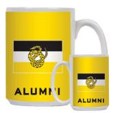 Alumni Full Color White Mug 15oz-Sigma Nu Flag