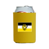 Neoprene Gold Can Holder-Sigma Nu Flag
