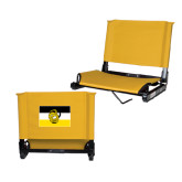 Stadium Chair Gold-Sigma Nu Flag