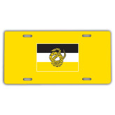 License Plate-Sigma Nu Flag