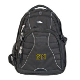 High Sierra Swerve Compu Backpack-Greek Letters w/ Trim