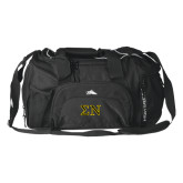 High Sierra Black Switch Blade Duffel-Greek Letters w/ Trim