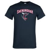 Navy T Shirt-Shenandoah Hornet