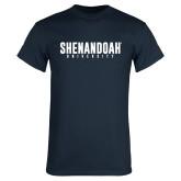Navy T Shirt-Shenandoah University