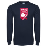 Navy Long Sleeve T Shirt-Ranked first in the nation