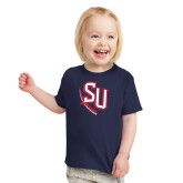 Toddler Navy T Shirt-SU