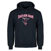Navy Fleece Hoodie-Shenandoah Hornet