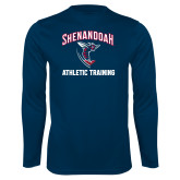 Syntrel Performance Navy Longsleeve Shirt-Athletic Training