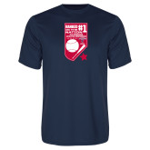 Syntrel Performance Navy Tee-Ranked first in the nation