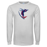 White Long Sleeve T Shirt-Hornet