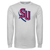 White Long Sleeve T Shirt-SU