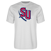 Syntrel Performance White Tee-SU