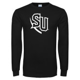 Black Long Sleeve TShirt-SU
