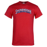 Red T Shirt-Shenandoah University Arched