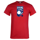 Red T Shirt-Ranked first in the nation