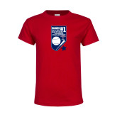 Youth Red T Shirt-Ranked first in the nation
