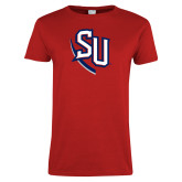 Ladies Red T Shirt-SU