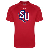 Under Armour Red Tech Tee-SU