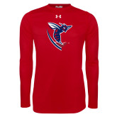 Under Armour Red Long Sleeve Tech Tee-Hornet