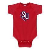 Red Infant Onesie-SU