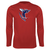 Syntrel Performance Red Longsleeve Shirt-Hornet