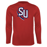Syntrel Performance Red Longsleeve Shirt-SU