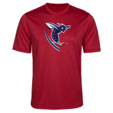 Performance Red Heather Contender Tee-Hornet