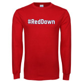 Red Long Sleeve T Shirt-Red Dawn