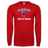 Red Long Sleeve T Shirt-Athletic Training