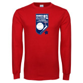 Red Long Sleeve T Shirt-Ranked first in the nation