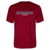 Performance Cardinal Tee-Squeeze Text
