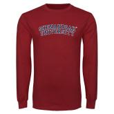 Cardinal Long Sleeve T Shirt-Arched