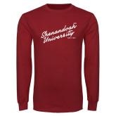 Cardinal Long Sleeve T Shirt-Script Established Date