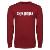 Cardinal Long Sleeve T Shirt-Shenandoah University