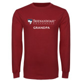 Cardinal Long Sleeve T Shirt-Grandpa