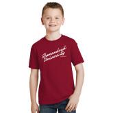 Youth Cardinal T Shirt-Script Established Date