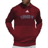 Adidas Cardinal Team Issue Hoodie-Arched