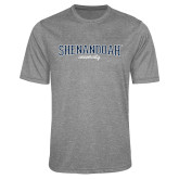 Performance Grey Heather Contender Tee-Squeeze Text