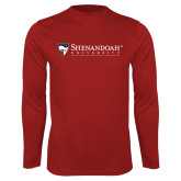 Performance Cardinal Longsleeve Shirt-Primary University Mark