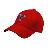 Red Heavyweight Twill Pro Style Hat-Hornet