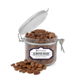 Almond Bliss Small Round Canister-Primary University Mark